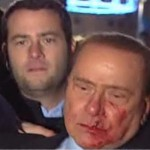 agression - silvio berlusconi