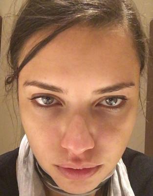 Adriana Lima No Make-Up