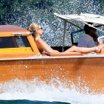 EXC - Supermodel Kate Moss and toy boy Nikolai von Bismarck on Holiday in Venice