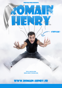 humoriste romain henry