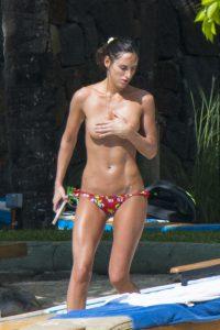 lily fortescue bikini topless