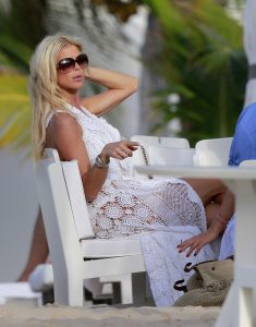 victoria silvstedt - dress white