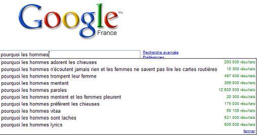 google-hommes