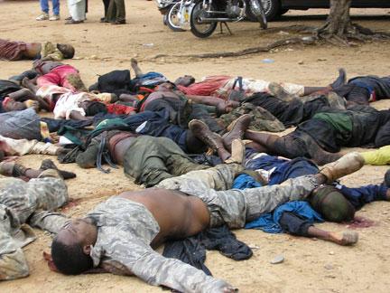 fusillade nigeria violence