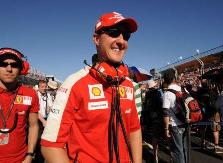 michael schumacher formule1 retour