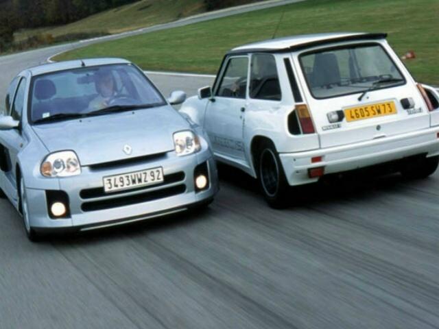Clio V6 et R5 Turbo 2