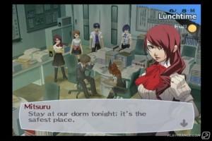 Persona 3 sur PSP