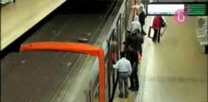 agression metro