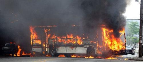 rio bus guerre gang