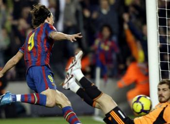 Ibrahimovic - FC Barcelone - Madrid