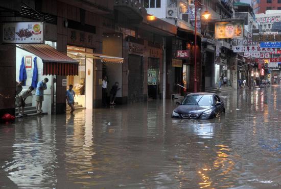pluie et inondation angleterre