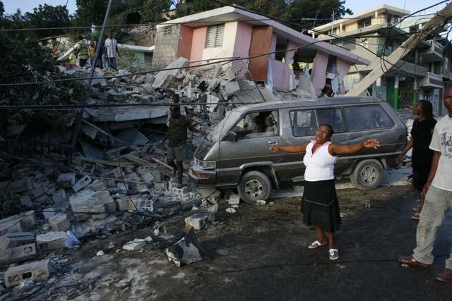 haiti - port-au-prince - tremblement de terre