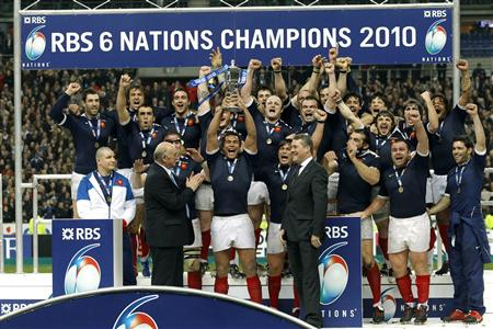 France - Tournoi 6 nations - Grand Chelem