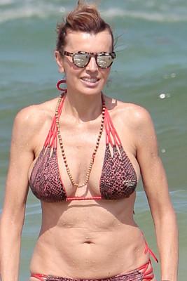 Rita Rusic bikini beach Miami