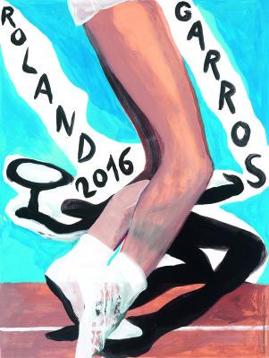 Affiche-officielle-Roland-Garros-2016