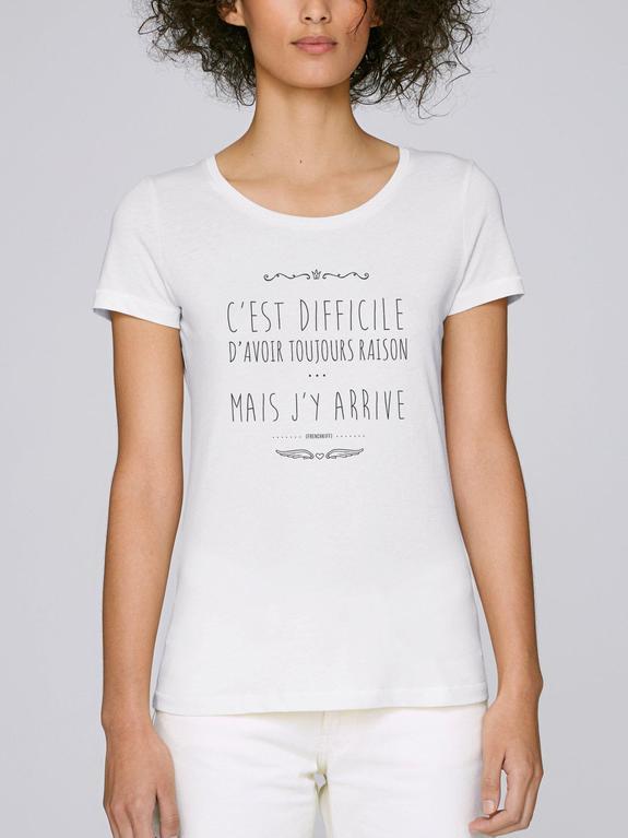 tshirt femme style imprimé