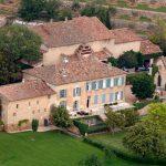 La villa d'Angelina Jolie &Brad Pitt (Chateau-Miraval - France)
