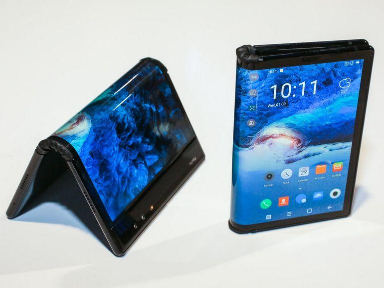 galaxy f - smartphone pliable