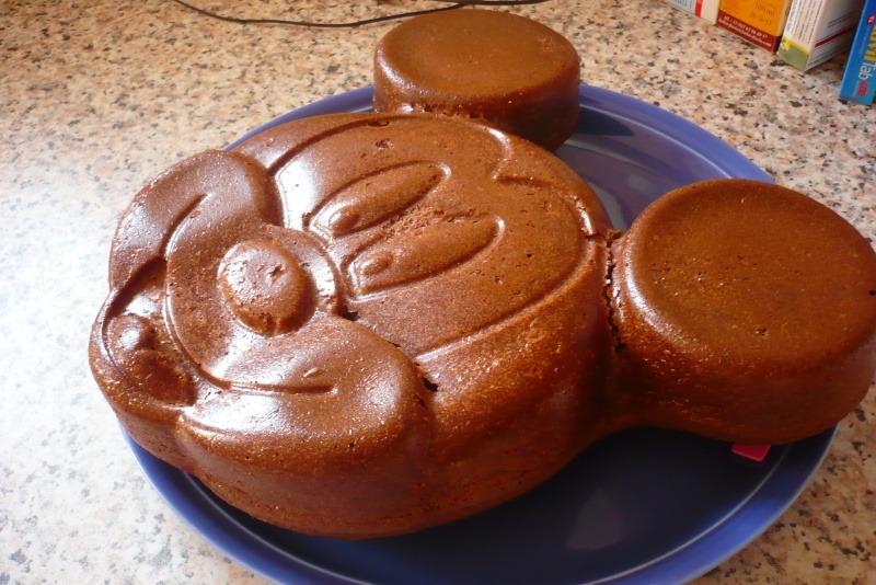 gâteau anniversaire mickey