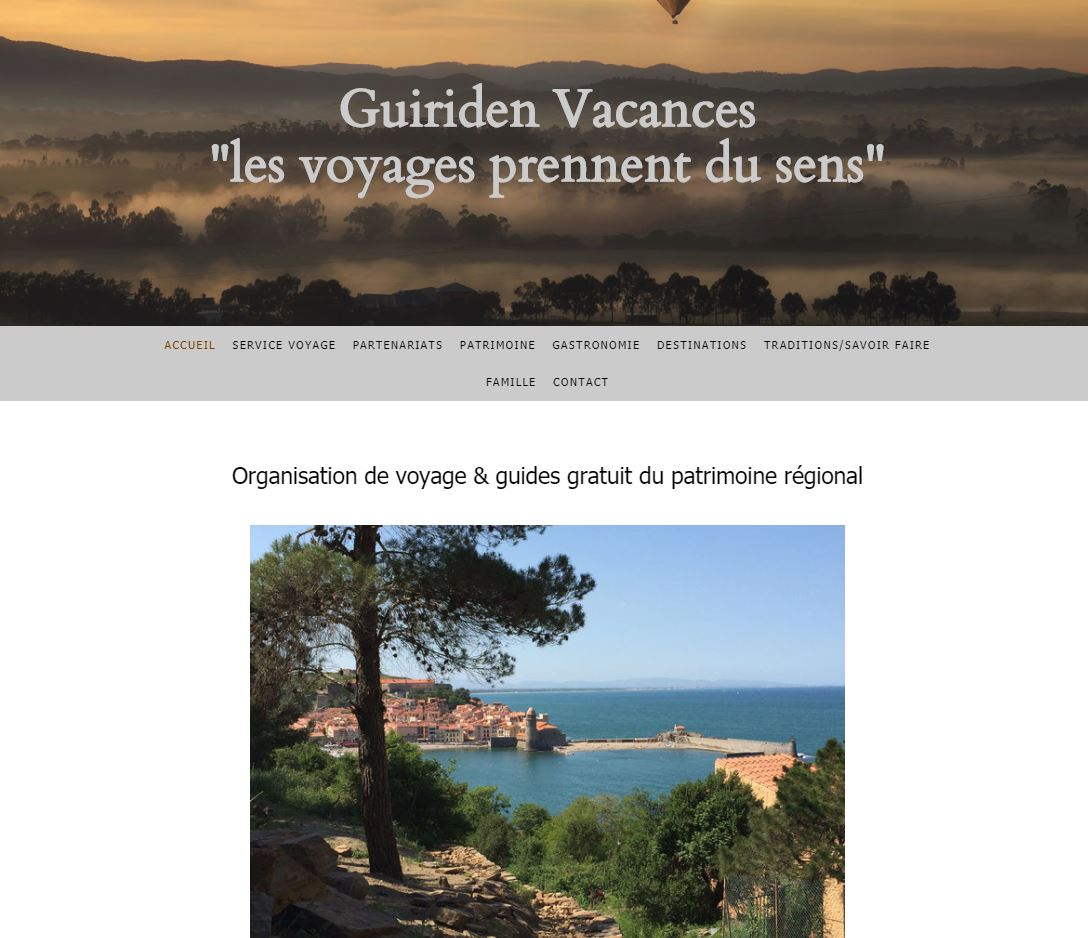 guiriden vacances - travel planner