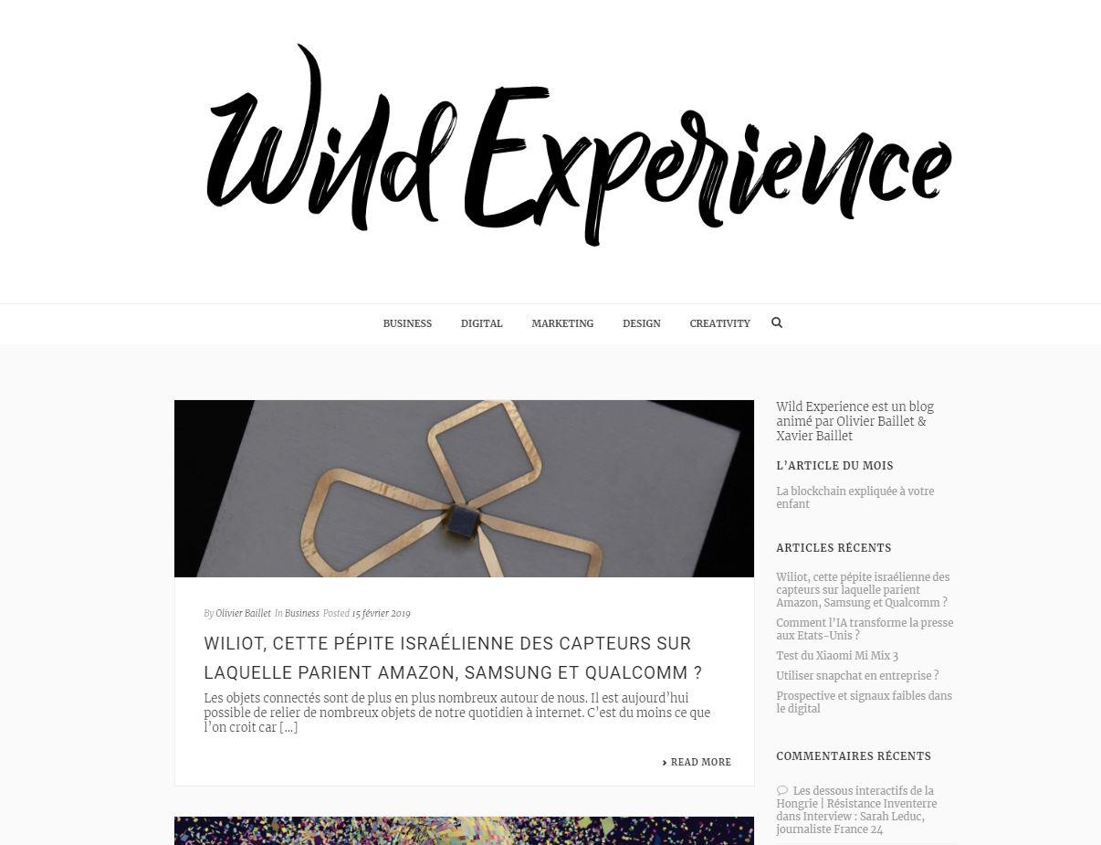 wildexperience homepage