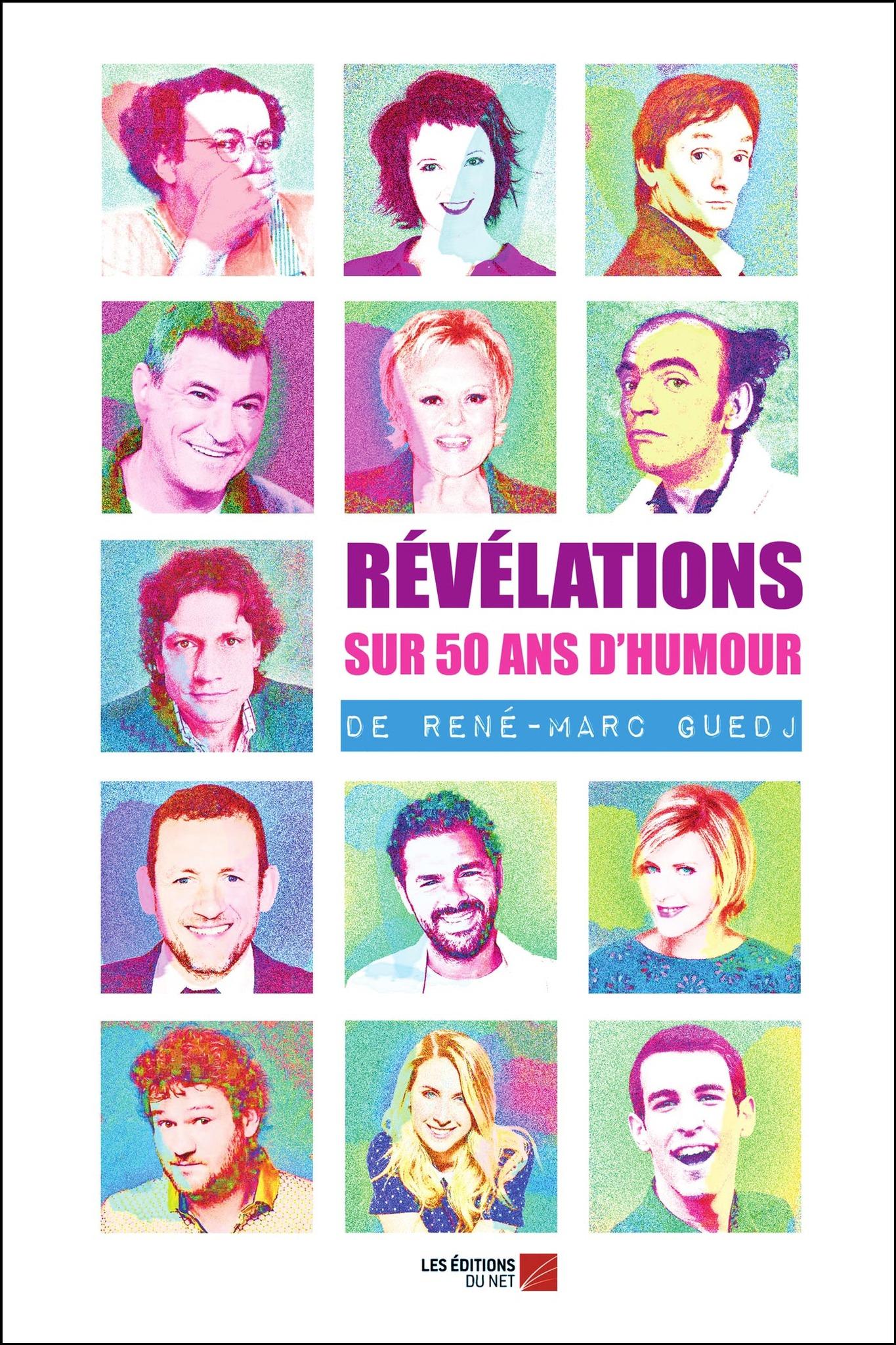 révélation sur  50 ans d'humour de René-Marc Guedj