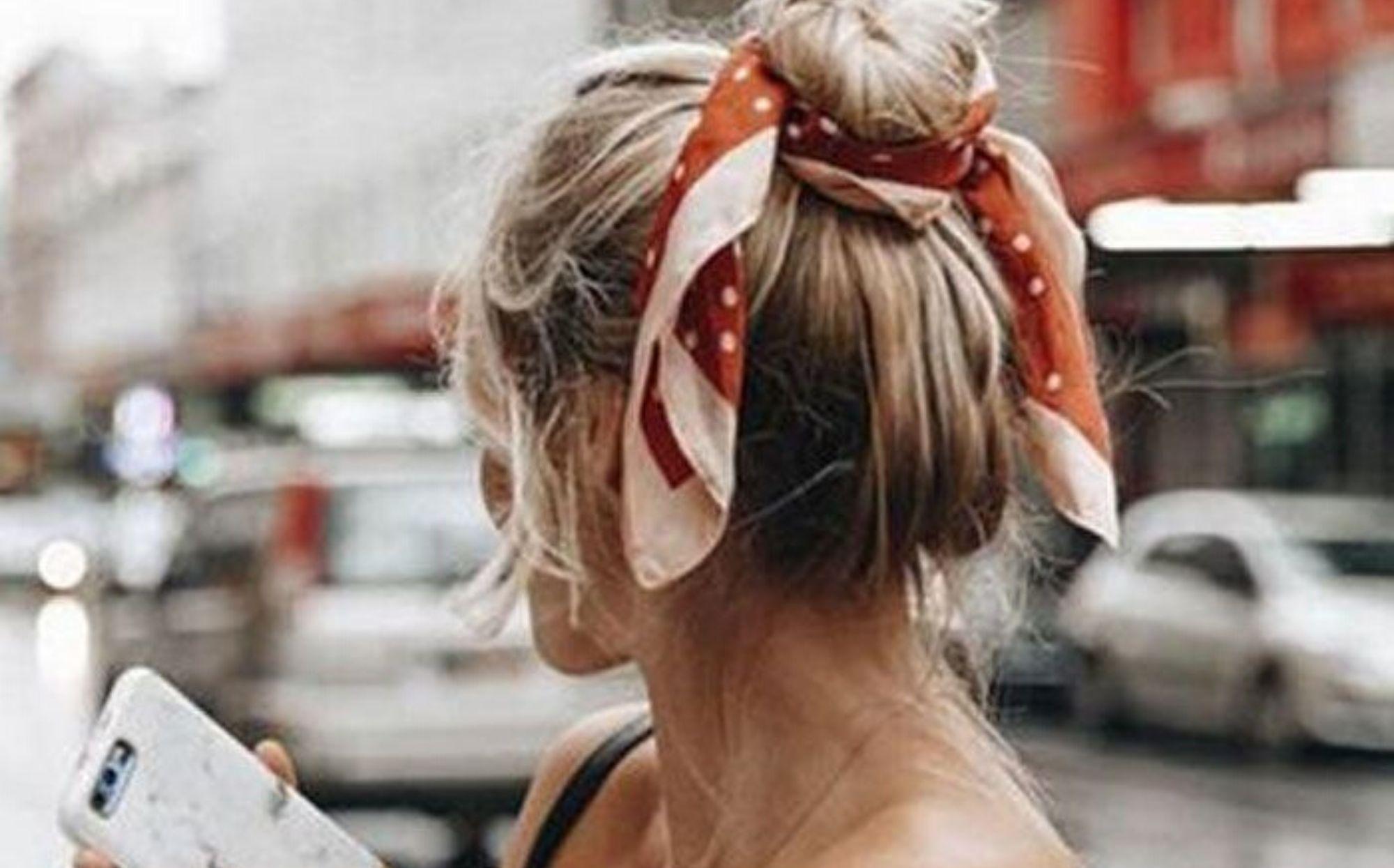 tendance du chouchou foulard