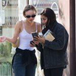 Lily-Rose Depp à Paris