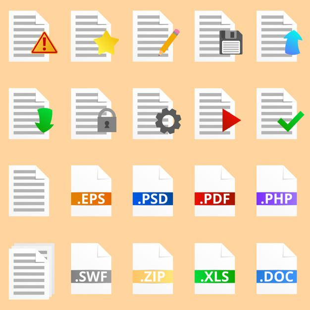 extension de fichier