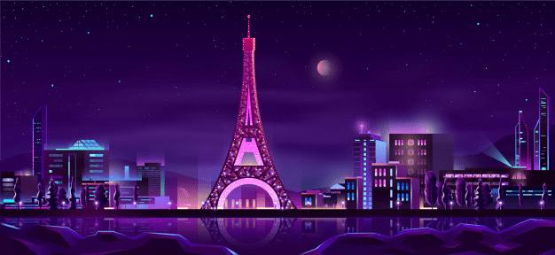 soirée inoubliable à Paris